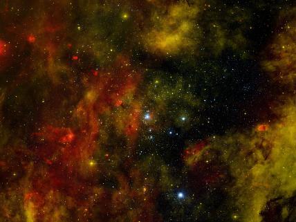 Stellar cradle of young stars, NASA image